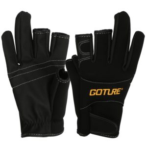 Shelure Anti-slip Fishing Gloves: