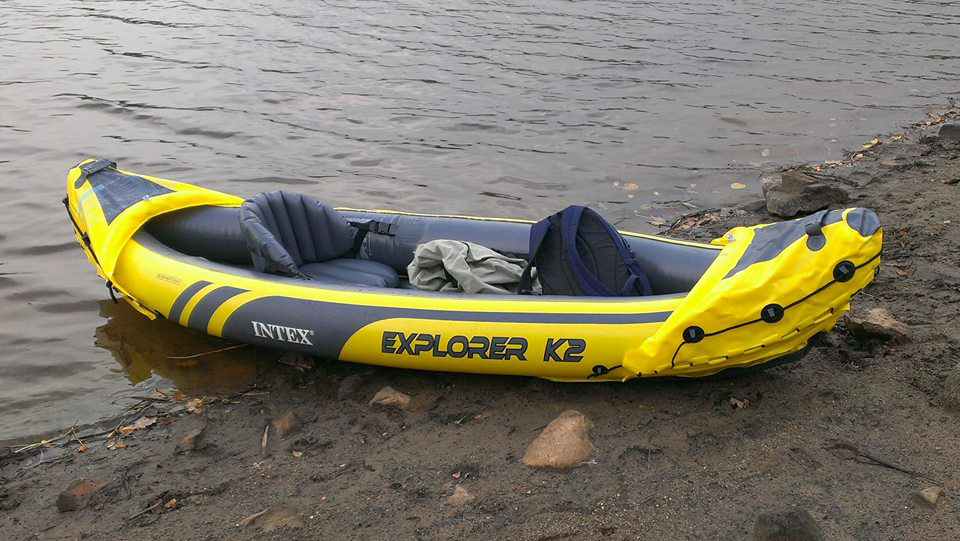 The Intex Explorer K2 Kayak